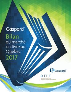 Bilan Gaspard 2017